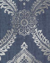 Zoraya Navy Damask by