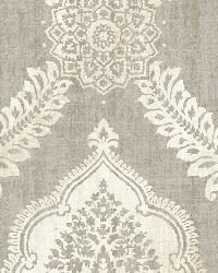 Zoraya Taupe Damask by
