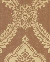 Zoraya Copper Damask by