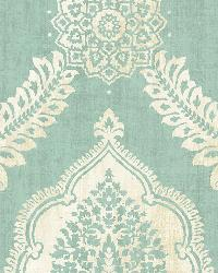 Zoraya Aqua Damask by