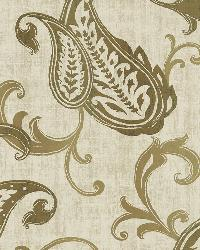 Darro Gold Global Paisley by