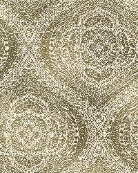 Zaida Gold Paisley Damask  by