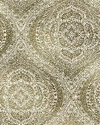Zaida Gold Paisley Damask  by