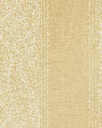 Arcades Gold Paisley Stripe by