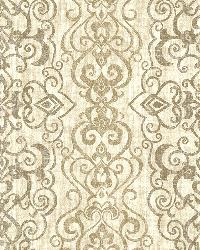Mexuar Taupe Filigree Stripe by