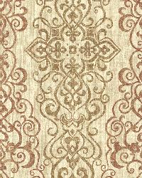 Mexuar Copper Filigree Stripe by