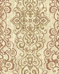Mexuar Copper Filigree Stripe by