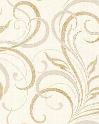 Rauda Champagne Modern Scroll by