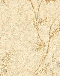 Lovera Cream Jacobean Floral Scroll by