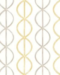 Banning Stripe Honey Geometric Wallpaper by