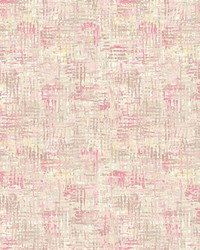 Avalon Pink Weave Wallpaper by