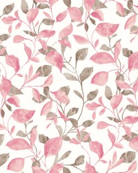 Catalina Trail Pink Vine Wallpaper by