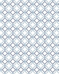 Star Bay Blueberry Geometric Wallpaper by