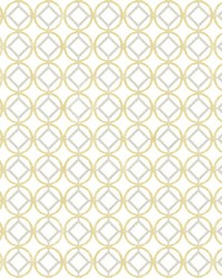 Star Bay Gold Geometric Wallpaper by