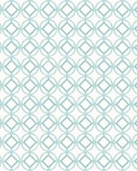 Star Bay Aqua Geometric Wallpaper by