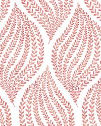 Arboretum Pink Fern Wallpaper by