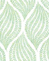 Arboretum Green Leaves Wallpaper by