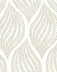 Arboretum Honey Leaves Wallpaper by