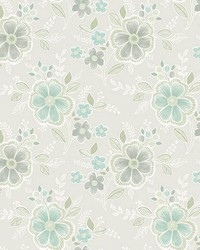 Chloe Aquamarine Floral by