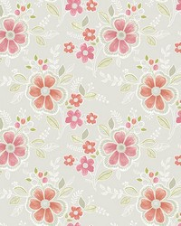Chloe Peach Floral by