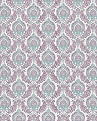 Lulu Plum Damask by