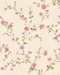 Delphine Pink Floral Trail by