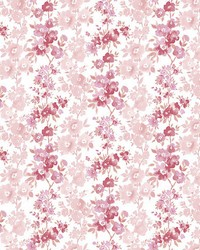 Charlise Pink Floral Stripe by