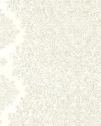 Benedict Cream Ornate Paisley Stripe by