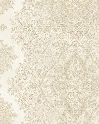 Benedict Beige Ornate Paisley Stripe by