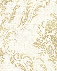 Manor Cream Floral Damask by