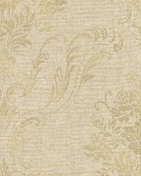 Manor Gold Floral Damask by