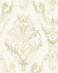 Wiley Cream Lace Damask by