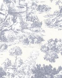 Isabella Blue Toile by