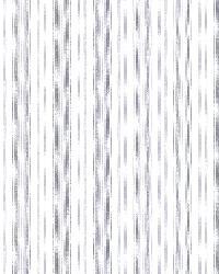 Anne Blue Ticking Stripe by  Brewster Wallcovering