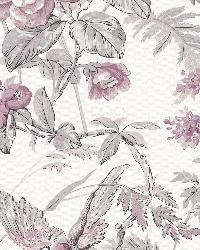 Elizabeth Purple Wildflower Trail by  Brewster Wallcovering