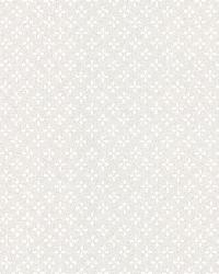 Lydia Grey Floral Ditsy by  Brewster Wallcovering