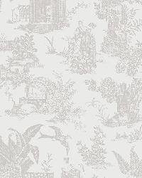 Zen Garden White Toile by