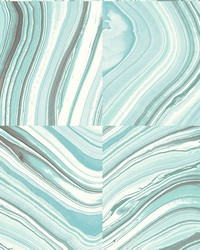 Agate Aqua Stone Wallpaper by
