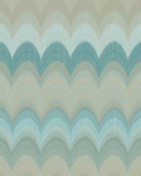 August Teal Wave Wallpaper by