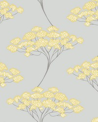 Banyan Grey Tree Wallpaper by