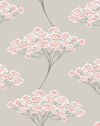 Banyan Beige Tree Wallpaper by