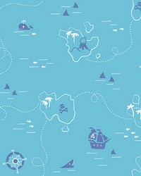 Sharks Teal Map by
