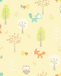 Forest Friends Yellow Animal by