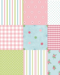 Patchwork Pink Patchwork by