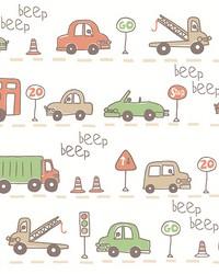 Beep Beep Beige Cars by