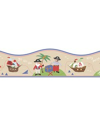 Pirates Sand Border by