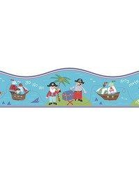Pirates Teal Border by