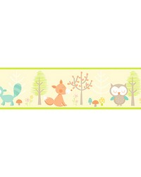 Happy Forest Friends Yellow Border by