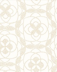 Cosmos Gold Dot Wallpaper by