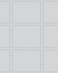 Gridlock Light Grey Geometric Wallpaper by